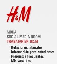 enviar el currículum a h&m