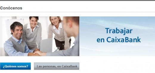 procedimiento para enviar curriculum vitae a caixabank