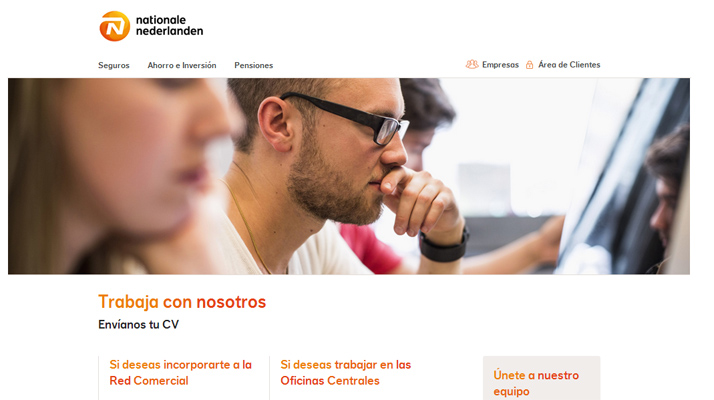 Enviar curriculum nationale nederlanden seguros enviar for Nationale nederlanden oficinas