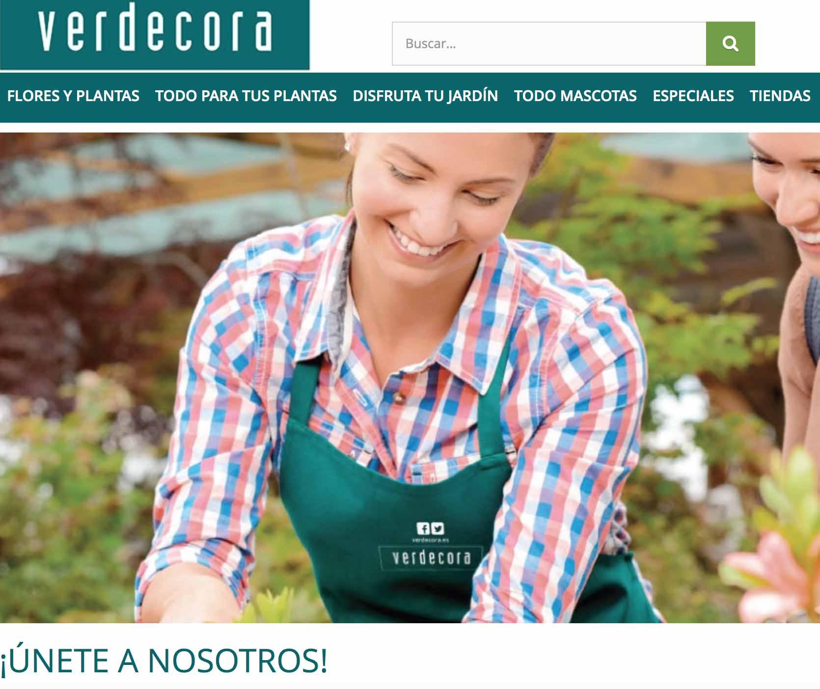 Verdecora ofrece 35 ofertas de empleo en m laga enviar for Verdecora malaga