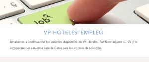 enviar curriculum hoteles vp madrid por internet