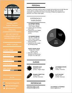 currículum infografía